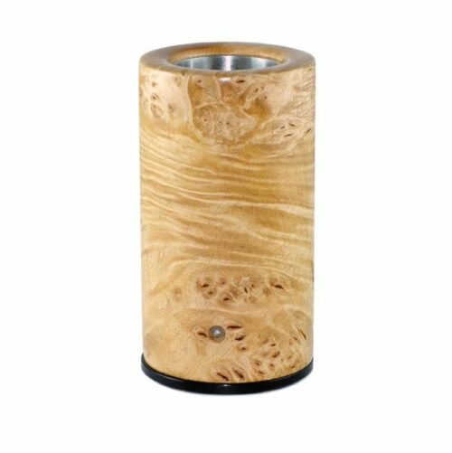 burl maple log style vaporizer