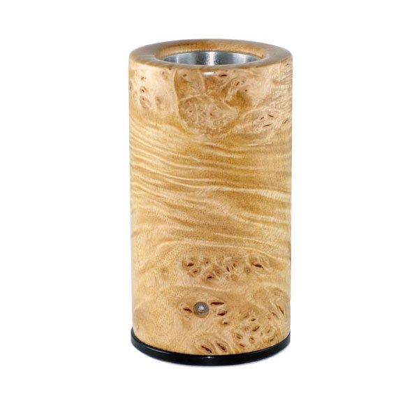 burl maple log style vaporizer