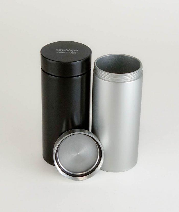 airtight aluminum storage container