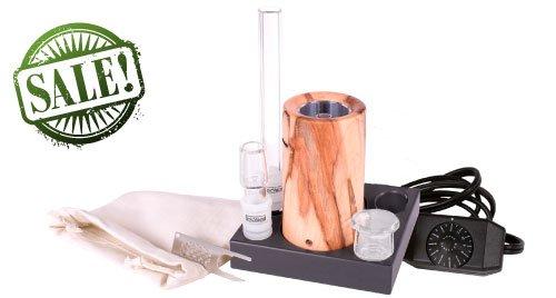 E-Nano Deluxe Standard Wood Vaporizer Kit